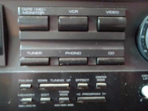 receptor yamaha natural sound rx v392 - amplificador - phono