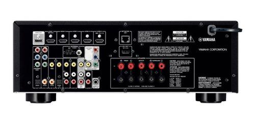 receptor yamaha rx-v479bl 5.1-channel musiccast av bluetooth