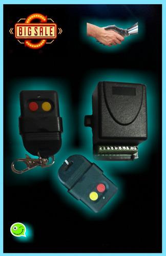 receptora y controles remotos