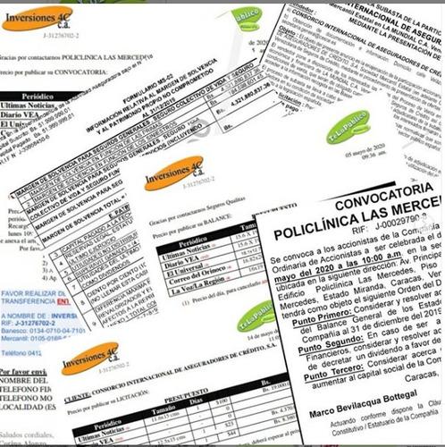 receptoria de avisos,publicidad,carteles,convocatorias