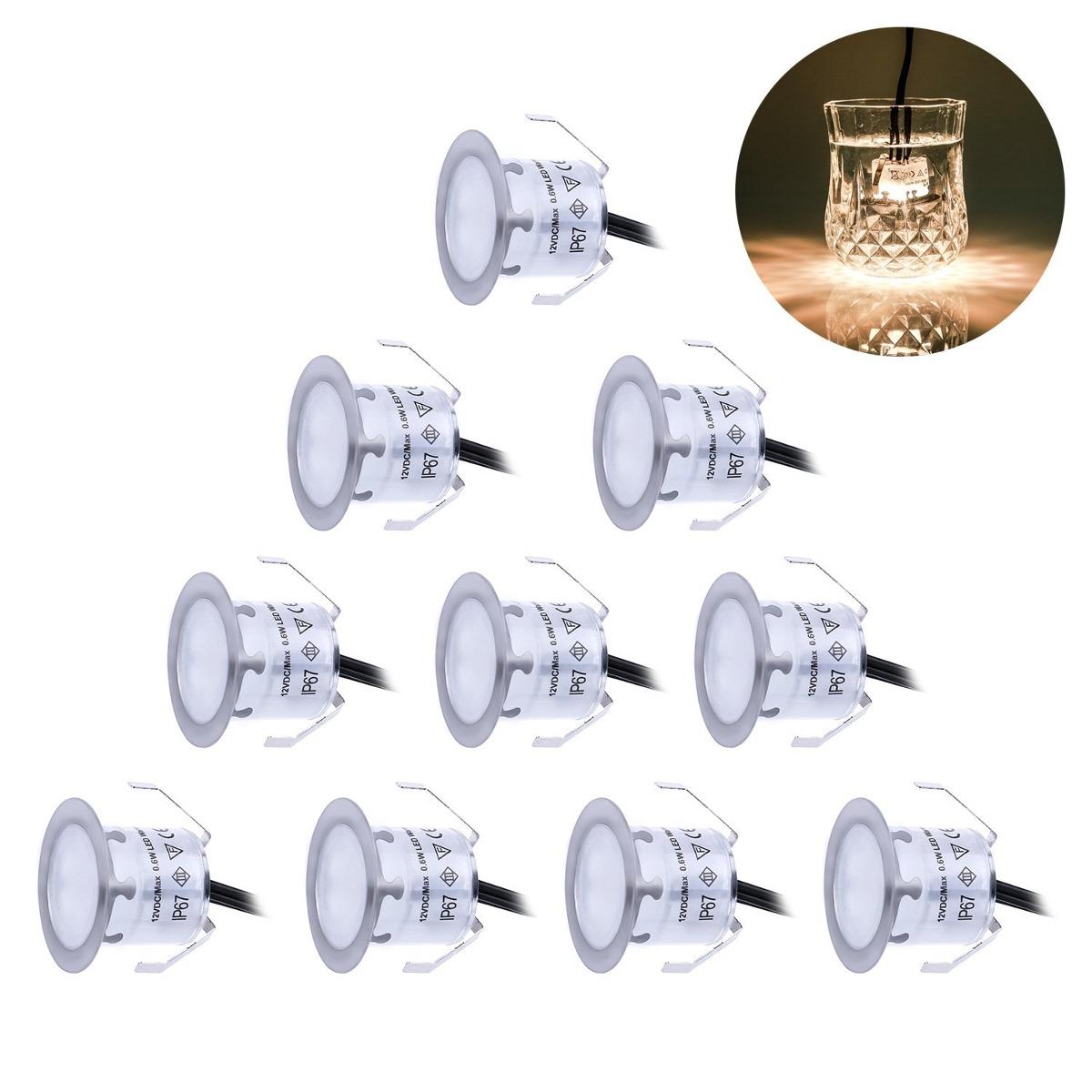 Recessed led deck lighting kits 12v low voltage warm white f recessed led deck lighting kits 12v low voltage warm white f cargando zoom aloadofball Images