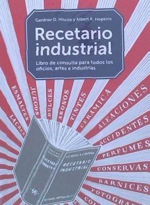 recetario industrial(libro )