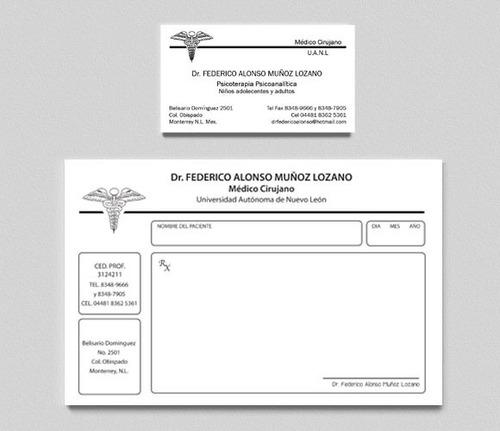 recetarios medicos - veterinarios - facturas - bogota