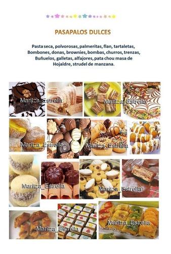 recetas de pasapalos, postres, arreglos frutales, fiestas