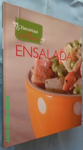 recetas de siempre- ensaladas- ed. cordillera- t. dura
