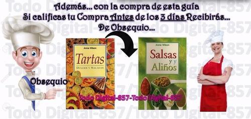 recetas pasapalos salados 3 + obsequio envío digital gratis!