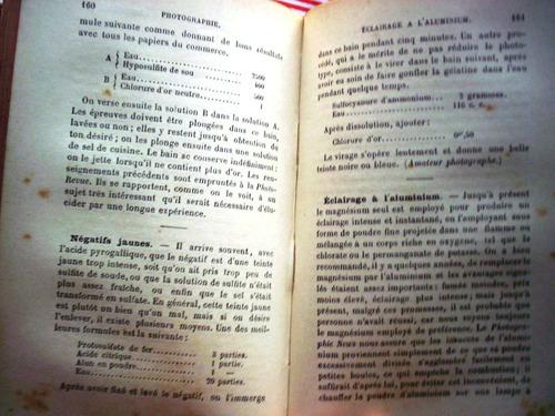 recettes et procèdès utiles (recetario) j. laffargue.
