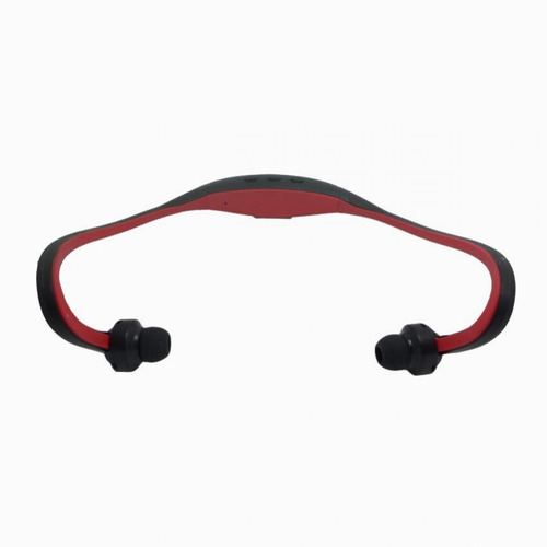 rechargeable sports music bluetooth v3.0 head - red