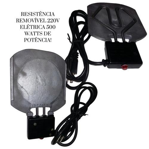 rechaud redondo p/ caldos tampa de vidro eletrico rf 00083