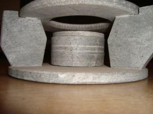 rechoud pequeno em pedra-sabão
