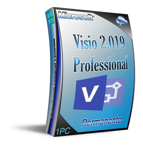 recibe tu visio pro 2019, 1 pc permanente