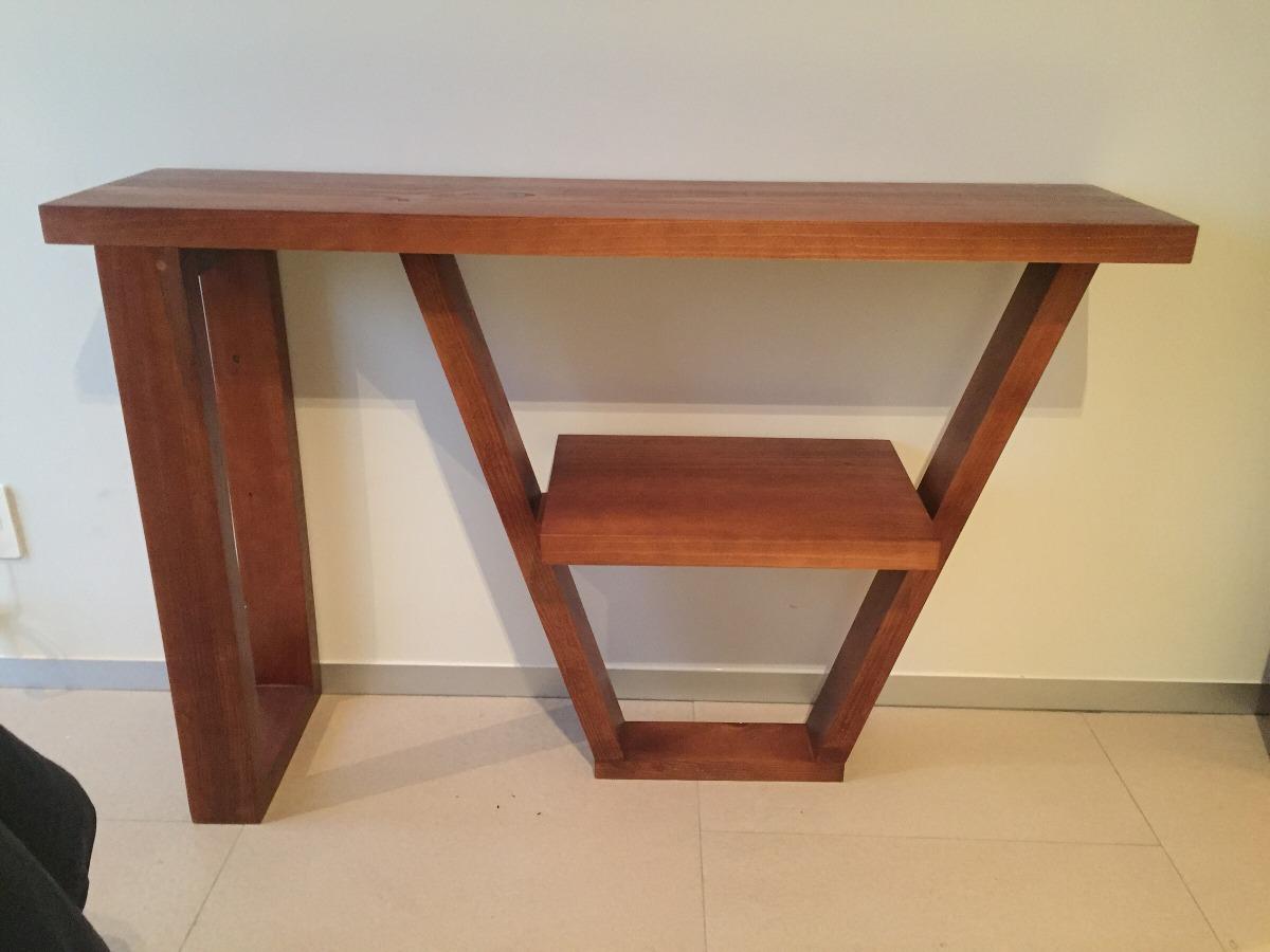 Credenza De Madera Con Espejo : Recibidor de madera sólida credenza minimalista en