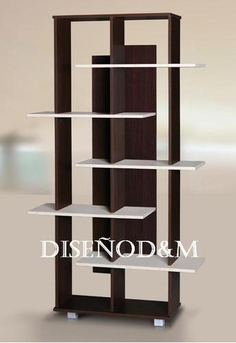 recibidor moderno estilo minimalista - madera - diseño d&m