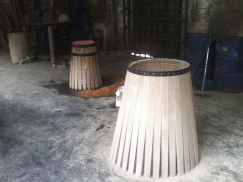 recibo 4 puesto tapizado bar licorera  barril o barrica