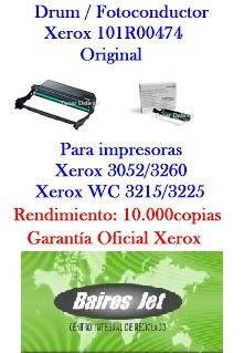 reciclado drum xerox workcentre 3225  phaser 3260 101r00474