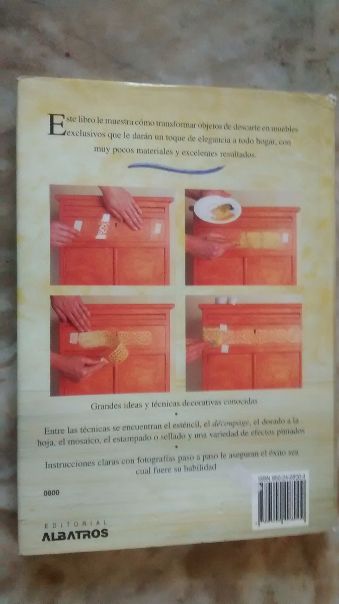Reciclado Renueve Sus Muebles Viejos Linda Barker 50000 En - Reciclado-de-muebles-viejos