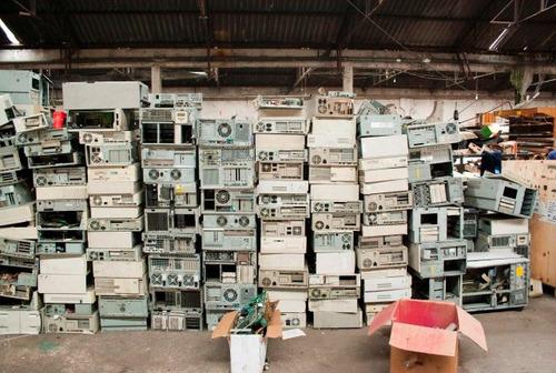 reciclaje de equipo de cómputo totalmente gratuito reciclado