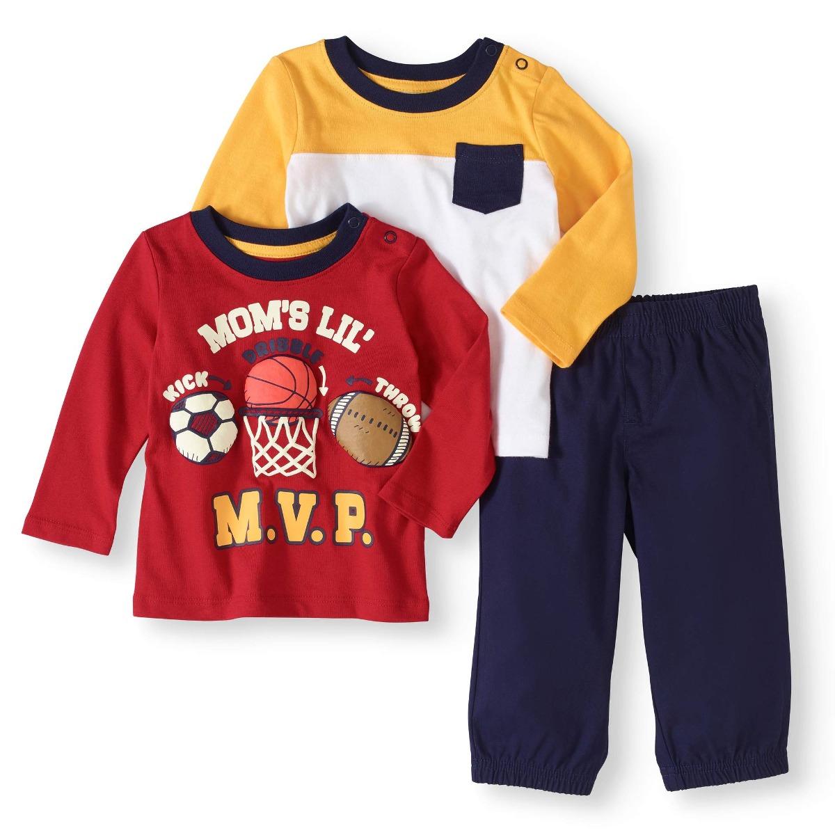ca3587e7ffa Recién Nacido Bebé Niño De Manga Larga Camisetas -   64.111 en ...