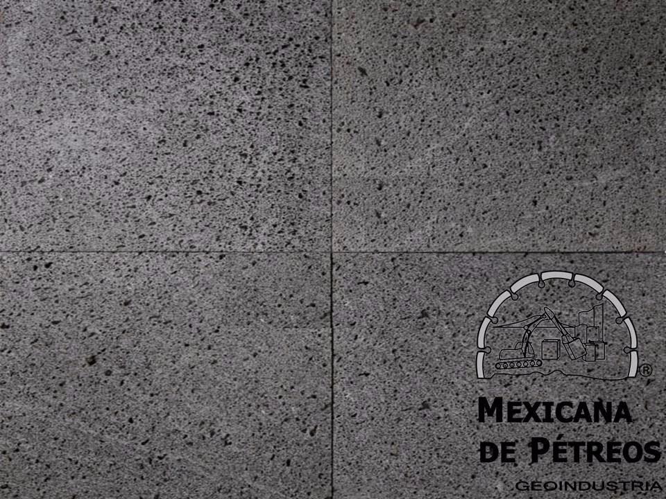 Recinto volc nico negro poro cerrado para pisos y fachadas for Precio de loseta