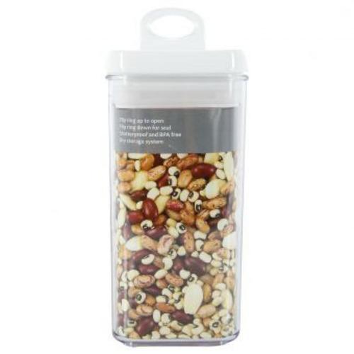 recipiente 2.7 litros felli acrílico nlg4808a rectangular-tr