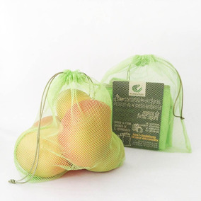 83cf1ef64 Paquete De Bolsas Ecológicas Ecostalitos Frutas Y Verduras