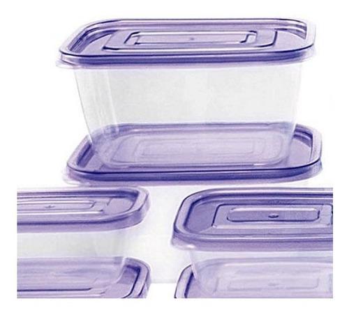 recipientes con tapa para almacenar 40 piezas coca plásticos