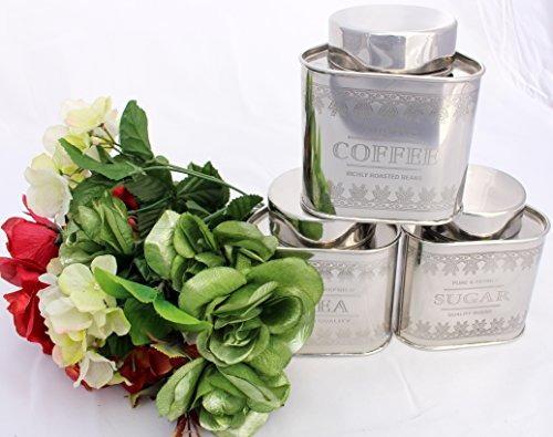 recipientes herméticos acero inoxidable tetera vintage set d