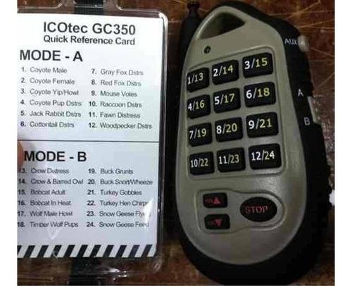 reclamo electronico icotec caceria depredadores programable