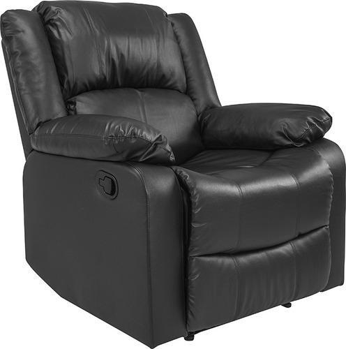 recliner poltrona negro sillón 1 cuerpo livings divino