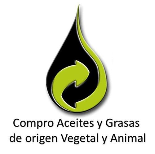recolección de aceites y grasas de origen vegetal y animal