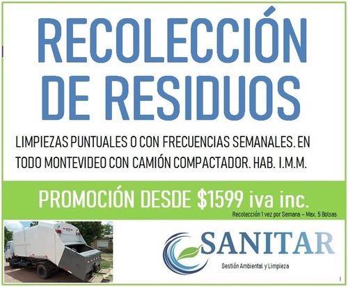 recolección de residuos comerciales e industriales