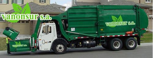 recolección de residuos y alquiler de volquetas