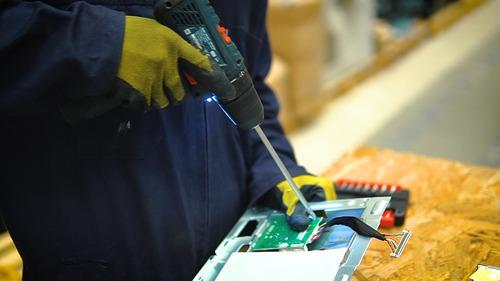 recolección y gestión adecuada de residuos electrónicos