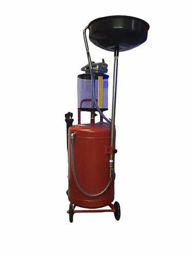 recolector y aspiradora de aceite 70 litros.
