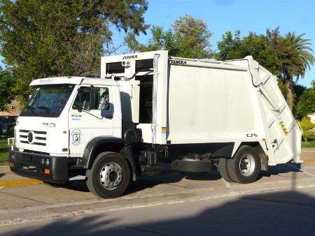 recolector y compactador de basura
