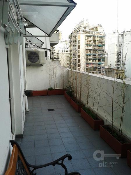 recoleta- 2 amb. c/ balcón terraza y parrilla- ideal estudiantes- alquiler temporario sin garantía en recoleta!