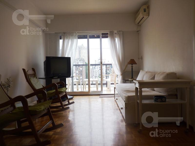 recoleta, departamento 3 ambientes con balcón terraza!