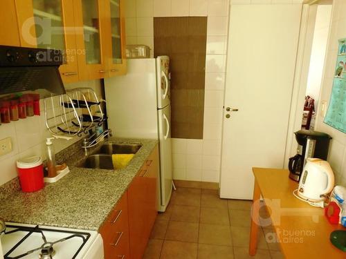 recoleta - dpto 3 amb-  excelente ubicación- ambientes amplios - alquiler temporario sin garantía