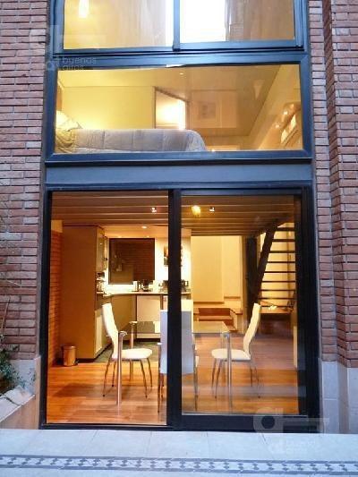 recoleta - loft 2 amb - con patio- muy luminoso - detalles de categoria - alquiler temporario sin garantía-