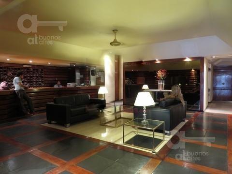 recoleta. moderno loft con amenities. alquiler temporario sin garantías.