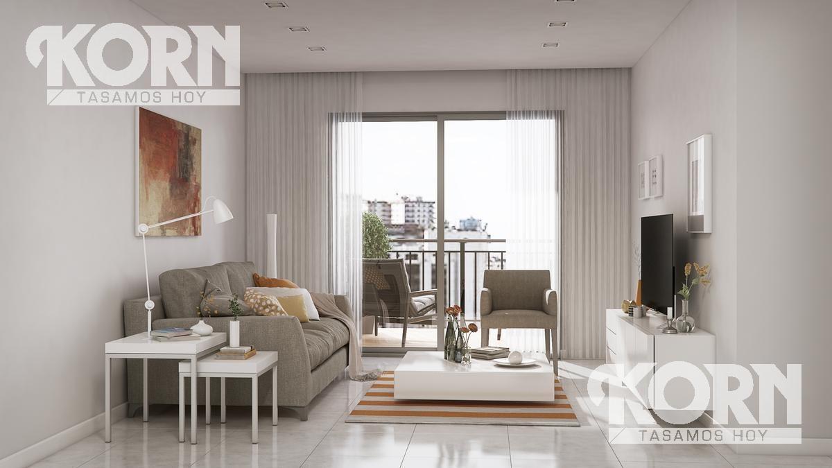 recoleta - semipiso en venta de 4 ambientes  con balcon en construccion
