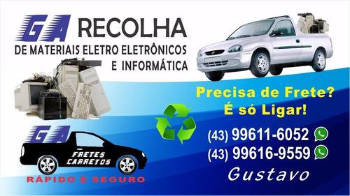 recolhas de produtos eletroeletrônicos e informatica