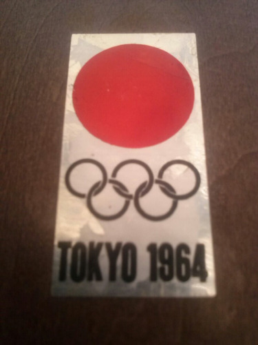 reconicimiento de los juegos olimpicos de tokio 1964 firmado