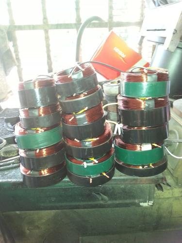reconst.de bobinas o magnetos para compresores de a/a automo