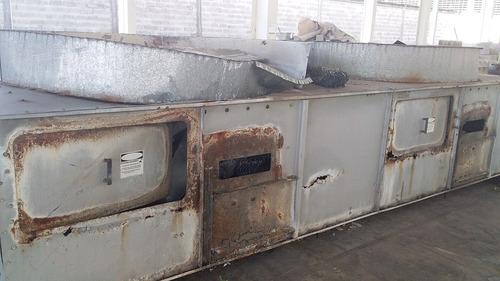 reconstrucción de condensadores evaporativos industriales