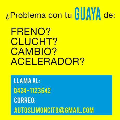 reconstrucción de guayas de freno clutch selectoras y varias