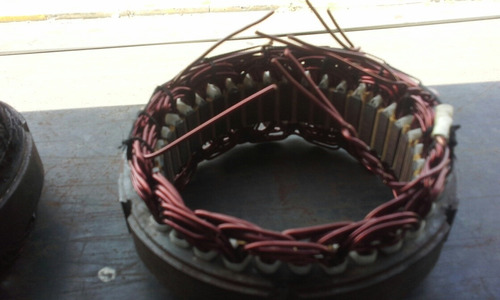 reconstruccion de statores y rotores de alternador