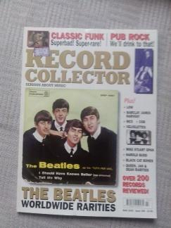 **record collector**   **beatles record rarities**