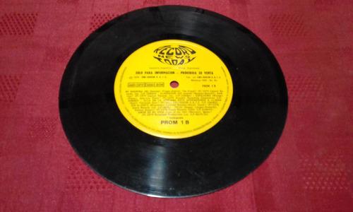 record news today compilado promo disco simple vinilo