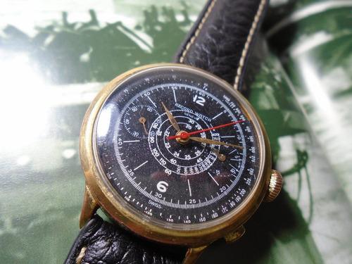 record watch longines cronografo antigo militar valjoux 23